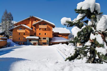 Location Les Carroz : Résidence P&V Premium les Fermes du Soleil hiver
