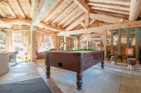 Аренда на лыжном курорте Résidence P&V Premium les Fermes du Soleil - Les Carroz - Бильярд