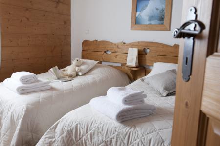 Аренда на лыжном курорте Résidence P&V Premium les Fermes du Soleil - Les Carroz - Односпальная кровать