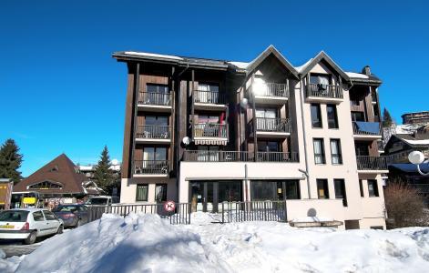 Location au ski Résidence Sunotel - Les Carroz - Extérieur hiver