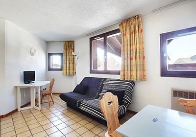 Location au ski Residence Sunotel - Les Carroz - Canapé