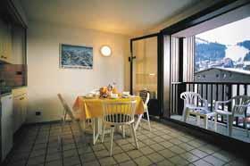 Location au ski Studio cabine 4 personnes - Residence Sunotel - Les Carroz - Porte-fenêtre donnant sur balcon