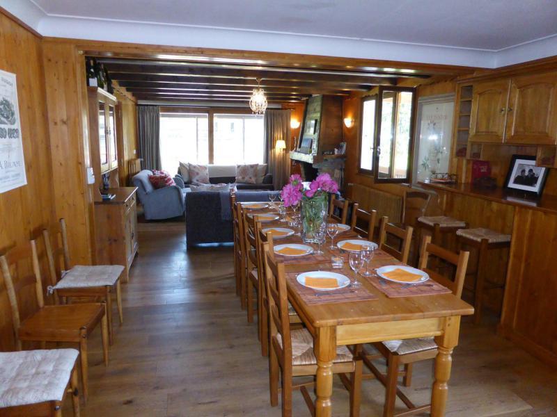 Аренда на лыжном курорте Шале 8 комнат 15 чел. - Chalet Buchan - Les Contamines-Montjoie - Салон
