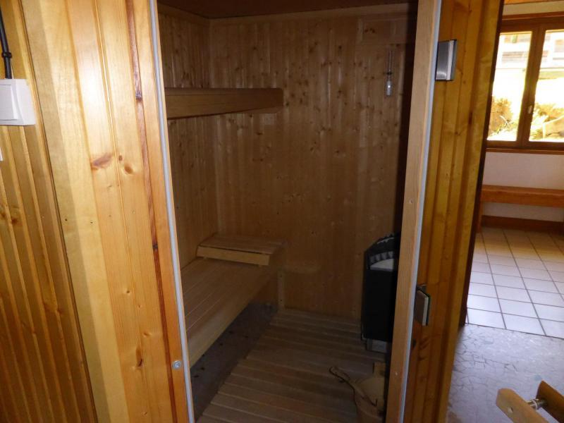 Аренда на лыжном курорте Chalet Buchan - Les Contamines-Montjoie - Сауна