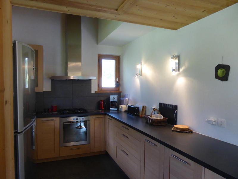 Аренда на лыжном курорте Шале дуплекс 5 комнат 8 чел. - Chalet Champelet - Les Contamines-Montjoie