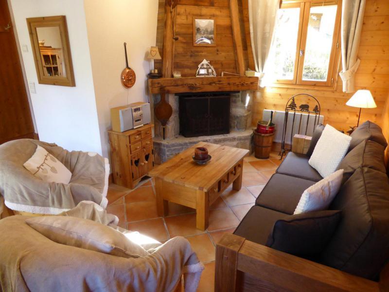 Аренда на лыжном курорте Шале 4 комнат 6 чел. - Chalet Goh - Les Contamines-Montjoie - Салон
