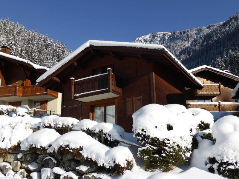 Аренда на лыжном курорте Chalet Goh - Les Contamines-Montjoie - зимой под открытым небом