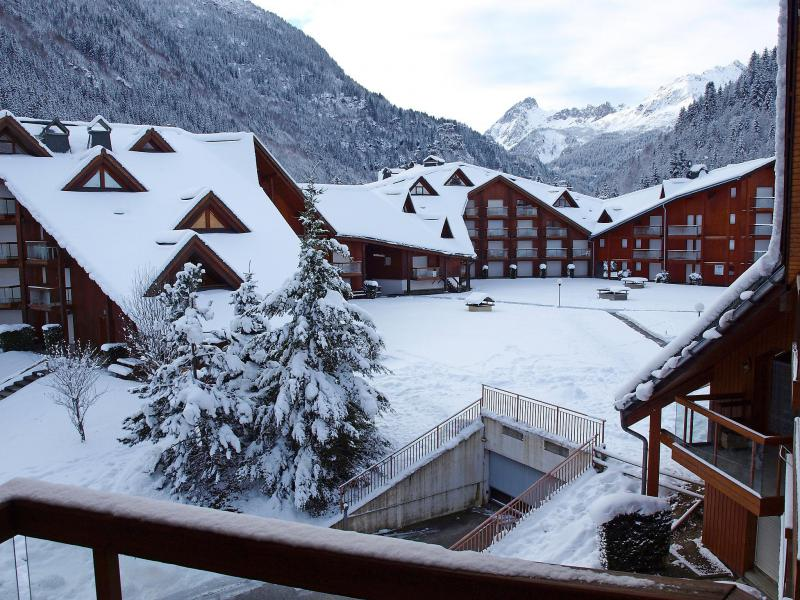 Rent in ski resort 1 room apartment 4 people (14) - L'Enclave I et J - Les Contamines-Montjoie - Apartment