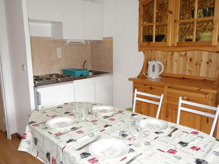 Rent in ski resort 1 room apartment 4 people (7) - L'Enclave I et J - Les Contamines-Montjoie - Apartment