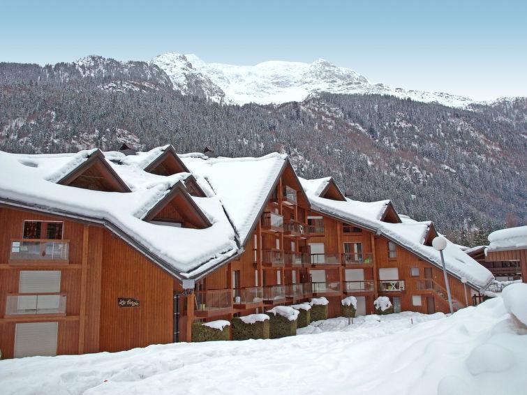 Holiday in mountain resort La Borgia A, B, C - Les Contamines-Montjoie - Winter outside