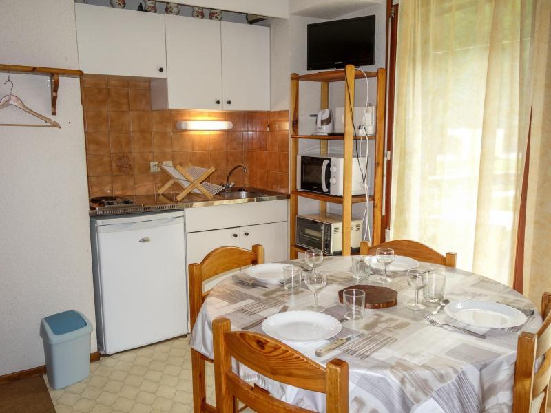 Аренда на лыжном курорте Апартаменты 1 комнат 4 чел. (1) - La Borgia A, B, C - Les Contamines-Montjoie