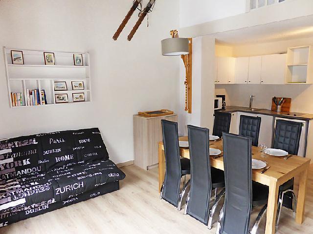 Wynajem na narty Apartament 3 pokojowy 6 osób (10) - La Borgia A, B, C - Les Contamines-Montjoie - Apartament