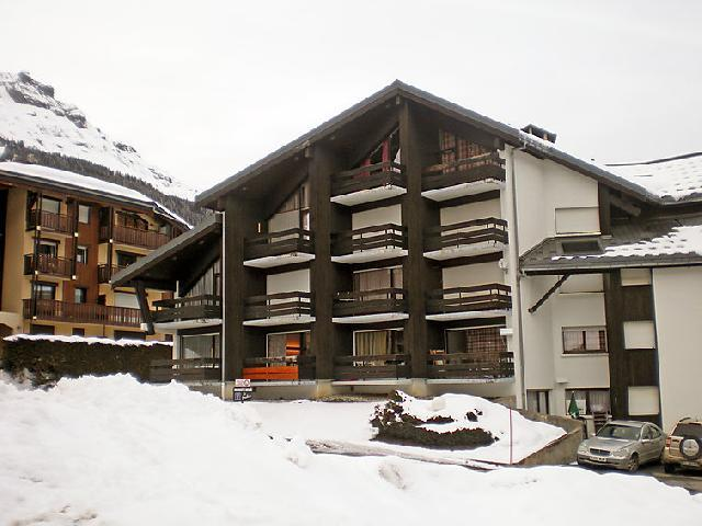 Holiday in mountain resort 2 room apartment 6 people (3) - Le Brûlaz - Les Contamines-Montjoie - Winter outside