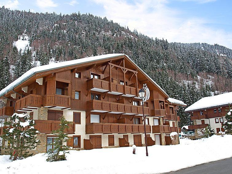 Holiday in mountain resort 2 room apartment 4 people (2) - Les Cimes d'Or A, B et C - Les Contamines-Montjoie - Winter outside