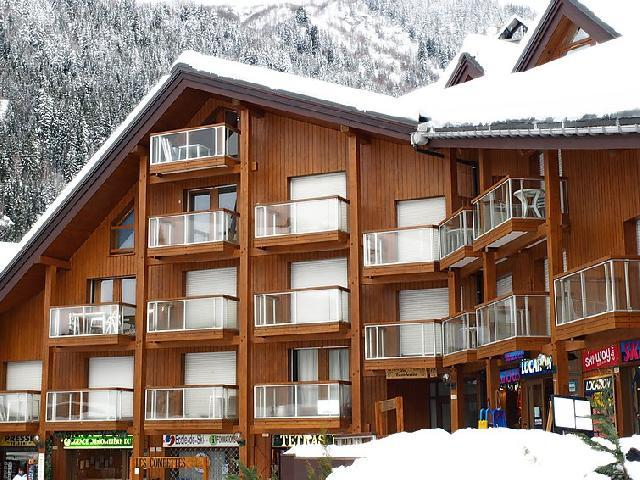 Holiday in mountain resort 1 room apartment 4 people (13) - Les Combettes D et E - Les Contamines-Montjoie - Winter outside