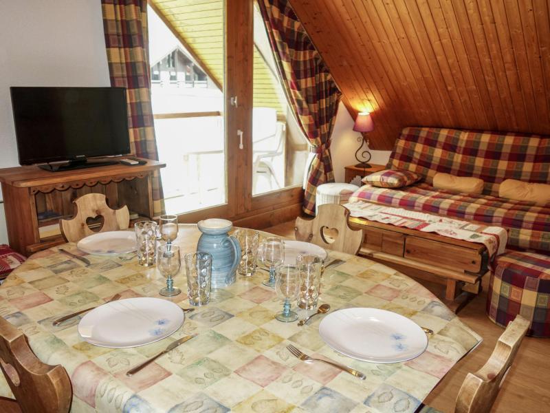 Аренда на лыжном курорте Апартаменты 2 комнат 4 чел. (19) - Les Combettes D et E - Les Contamines-Montjoie
