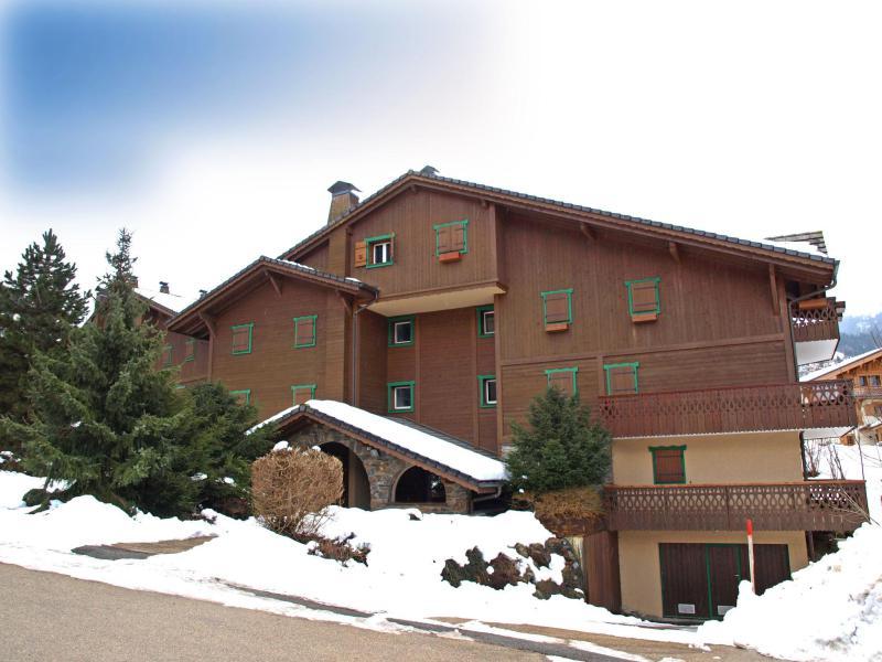 Аренда на лыжном курорте Апартаменты 3 комнат 6 чел. (5) - Les Huskies - Les Contamines-Montjoie - зимой под открытым небом