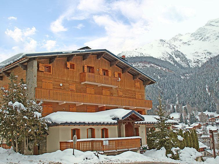 Holiday in mountain resort 6 room apartment 10 people (1) - Les Moranches - Les Contamines-Montjoie - Winter outside