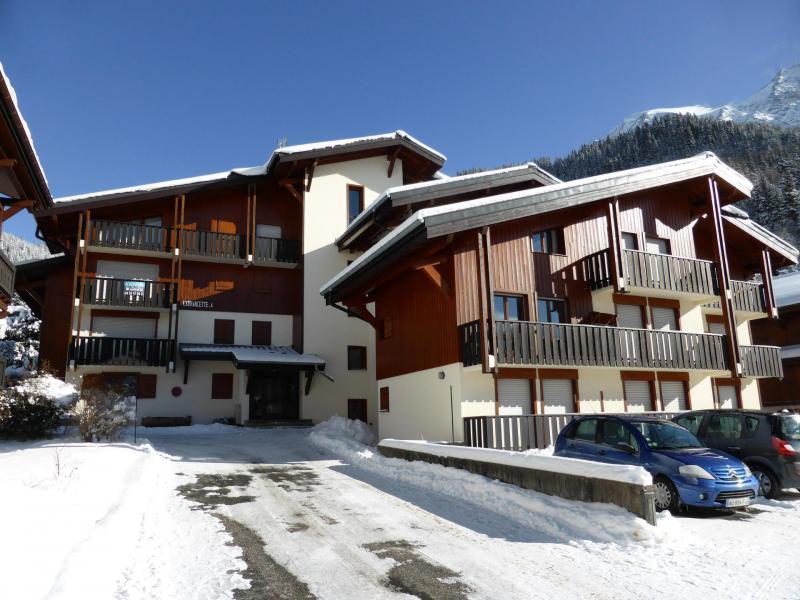 Rent in ski resort Résidence l'Armancette - Les Contamines-Montjoie - Winter outside