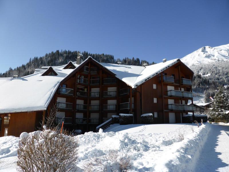 Urlaub in den Bergen Résidence l'Enclave - Les Contamines-Montjoie - Draußen im Winter