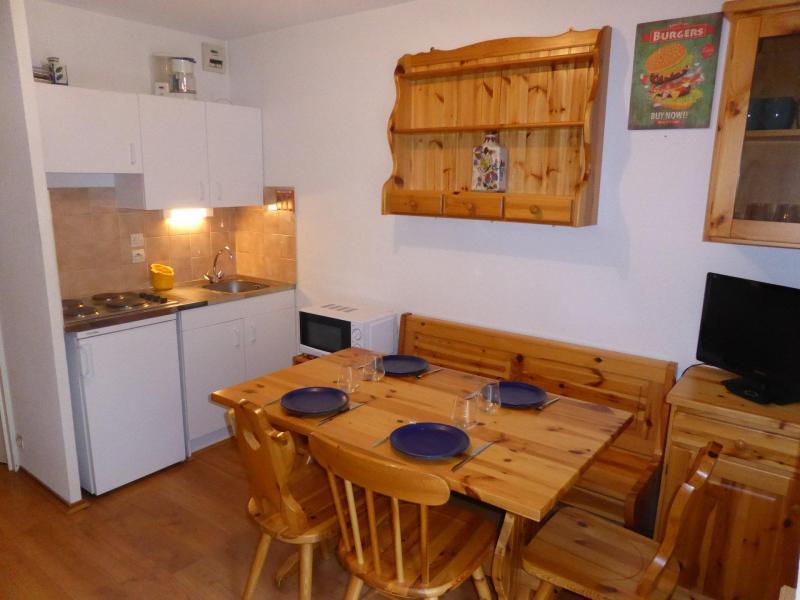 Аренда на лыжном курорте Квартира студия со спальней для 4 чел. (J711) - Résidence l'Enclave - Les Contamines-Montjoie