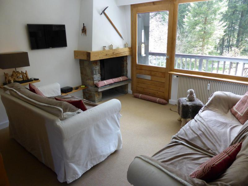 Аренда на лыжном курорте Апартаменты 2 комнат 6 чел. - Résidence la Biaule - Les Contamines-Montjoie