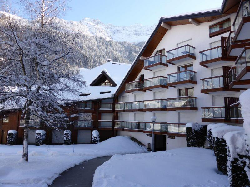 Urlaub in den Bergen Résidence la Borgia - Les Contamines-Montjoie - Draußen im Winter