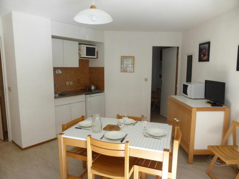 Location au ski Appartement 2 pièces 4 personnes (CT788) - Résidence la Borgia - Les Contamines-Montjoie - Table