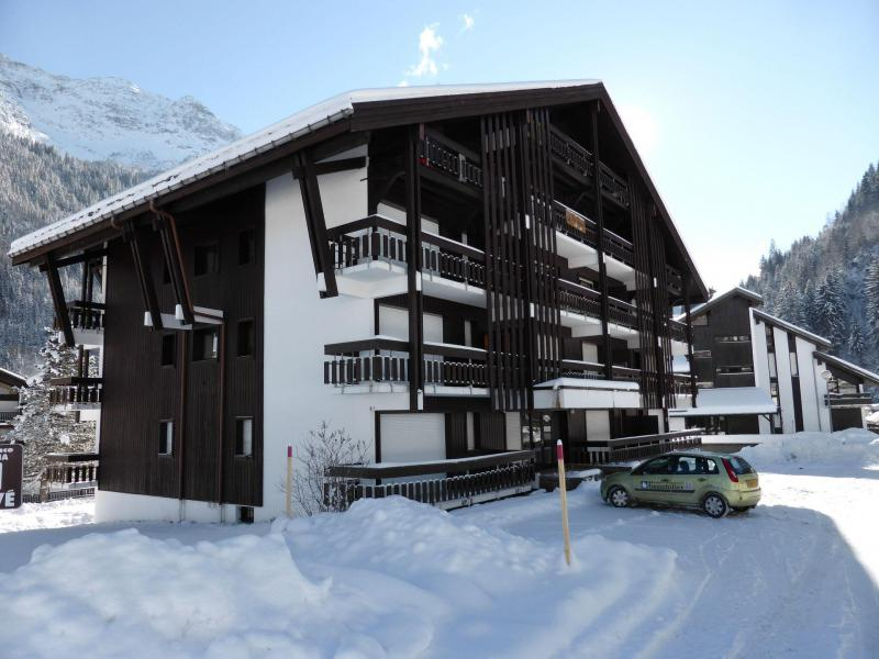Urlaub in den Bergen Résidence la Tapia - Les Contamines-Montjoie - Draußen im Winter