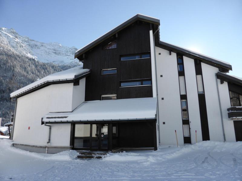 Urlaub in den Bergen Résidence le Brulaz - Les Contamines-Montjoie - Draußen im Winter