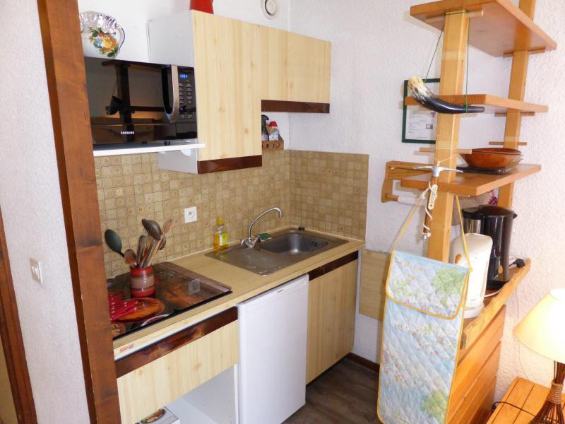 Аренда на лыжном курорте Квартира студия со спальней для 5 чел. (F1E) - Résidence le Brulaz - Les Contamines-Montjoie