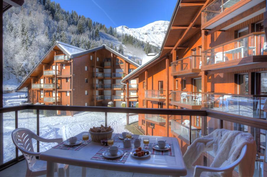 Alquiler al esquí Résidence le Névez - Les Contamines-Montjoie - Invierno
