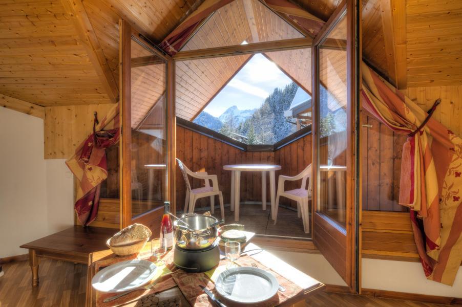 Location au ski Résidence le Névez - Les Contamines-Montjoie - Coin repas