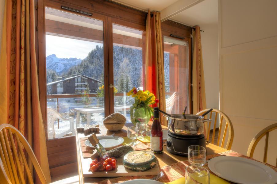 Alquiler al esquí Résidence le Névez - Les Contamines-Montjoie - Comedor