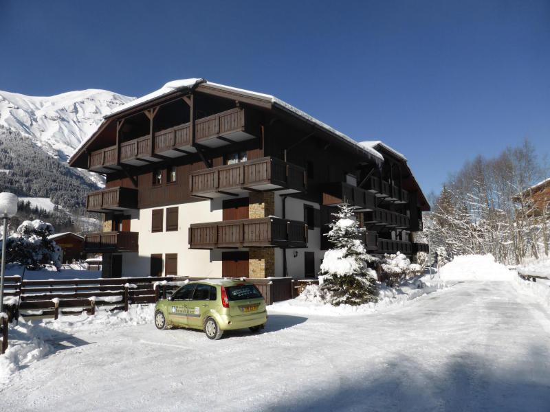 Urlaub in den Bergen Résidence les Cimes d'Or - Les Contamines-Montjoie - Draußen im Winter
