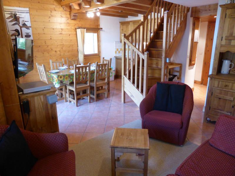 Аренда на лыжном курорте Апартаменты дуплекс 2 комнат 6 чел. (FLOR6) - Résidence les Lapons - Les Contamines-Montjoie - Сиденье банкетка