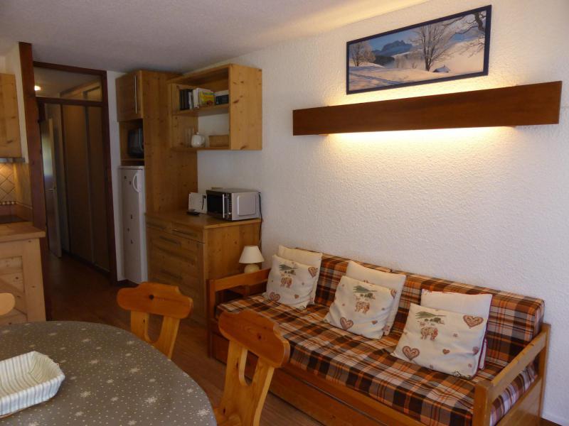 Аренда на лыжном курорте Апартаменты 3 комнат 6 чел. (D75/R571) - Résidence Rochasset - Les Contamines-Montjoie - Столова&