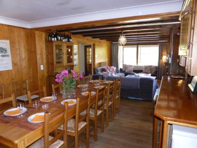 Аренда на лыжном курорте Шале 8 комнат 15 чел. - Chalet Buchan - Les Contamines-Montjoie - Стол