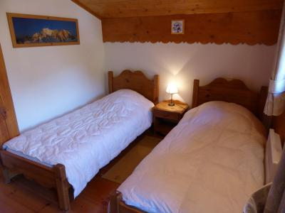Rent in ski resort 4 room chalet 6 people - Chalet Goh - Les Contamines-Montjoie - Bedroom under mansard
