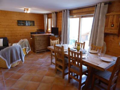 Rent in ski resort 4 room chalet 6 people - Chalet Goh - Les Contamines-Montjoie - Dining area