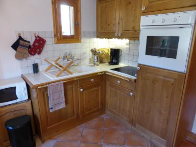 Rent in ski resort 4 room chalet 6 people - Chalet Goh - Les Contamines-Montjoie - Kitchen