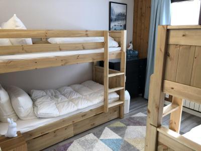Rent in ski resort 4 room mezzanine apartment 8-10 people (806) - Chalet St Roch - Les Contamines-Montjoie - Bunk beds