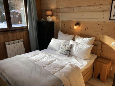 Rent in ski resort 4 room mezzanine apartment 8-10 people (806) - Chalet St Roch - Les Contamines-Montjoie - Double bed