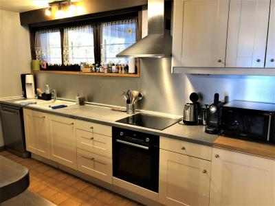 Rent in ski resort 4 room mezzanine apartment 8-10 people (806) - Chalet St Roch - Les Contamines-Montjoie - Kitchenette