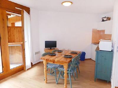 Rent in ski resort 1 room apartment 4 people (14) - L'Enclave I et J - Les Contamines-Montjoie - Open-plan kitchen