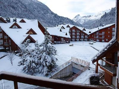 Rent in ski resort 1 room apartment 4 people (14) - L'Enclave I et J - Les Contamines-Montjoie - Winter outside