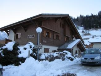Location au ski Residence L'ancolie - Les Contamines-Montjoie - Extérieur hiver