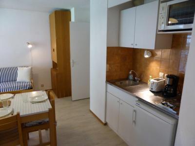 Rent in ski resort 2 room apartment 4 people (CT788) - Résidence la Borgia - Les Contamines-Montjoie - Kitchenette