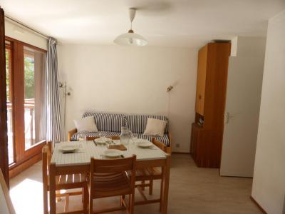 Rent in ski resort 2 room apartment 4 people (CT788) - Résidence la Borgia - Les Contamines-Montjoie - Living room