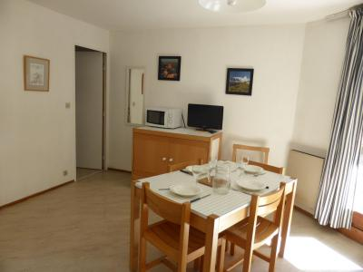 Rent in ski resort 2 room apartment 4 people (CT788) - Résidence la Borgia - Les Contamines-Montjoie - Table